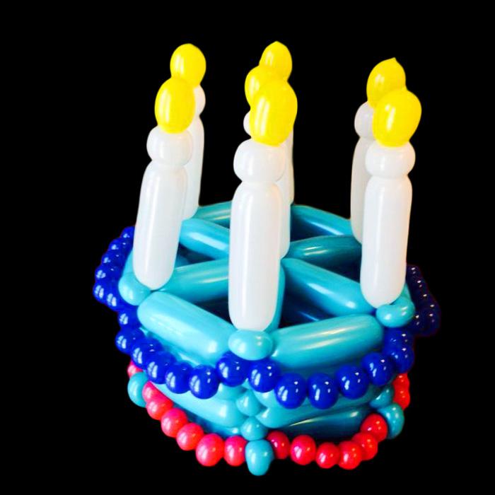 birthday hat balloon