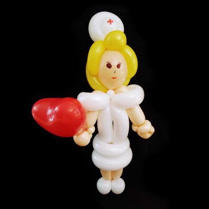 get well soon balloon character