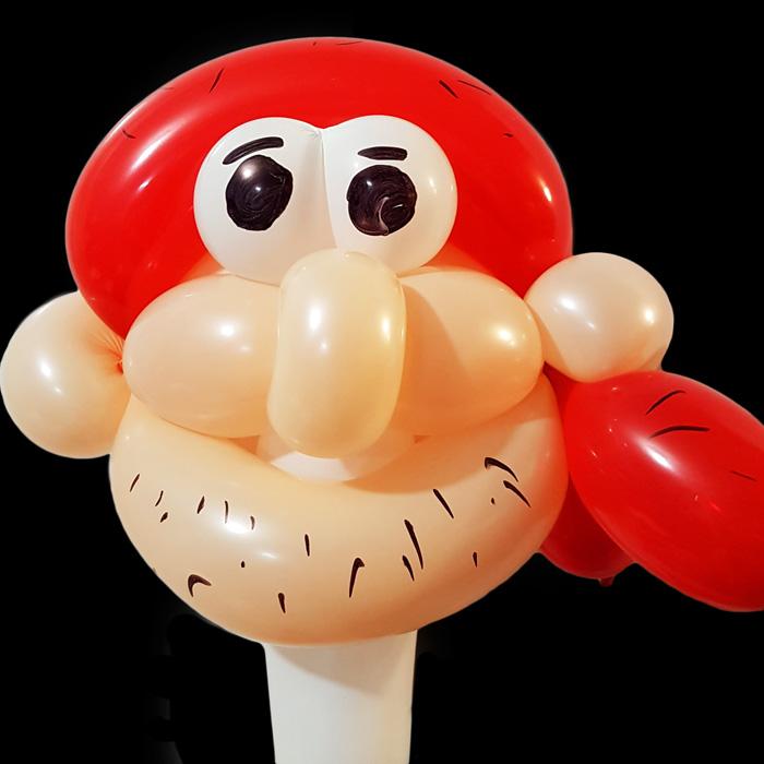 pirate balloon figure