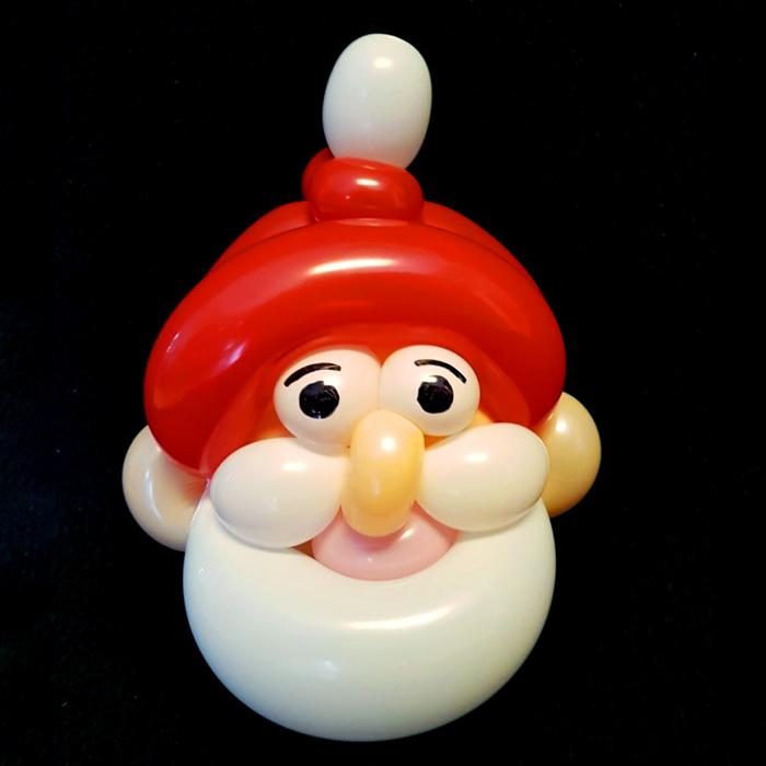 santa balloon character